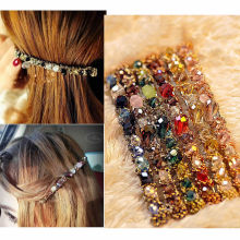 Buy 2pcs Korean Colored Rhinestone Hair Clip Women Girls Barrette Hairpin Princess Hairgrip Hairband Hair Accessories for $1.47 in AliExpress store
