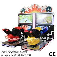Amusement Machine Coin Operated Simulator 3D Drift Moto Driving Motorbike Car Racing Video Arcade Game Machine(China)