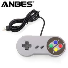 USB Controller Gaming Joystick Gamepad Controller for Nintendo SNES Game pad for Windows PC MAC Computer Control Joystick(China)