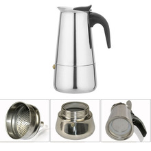 Stainless steel percolator moka/mocha coffee maker tea pot kettle teapot drinkware barware coffee supplies tools accessories