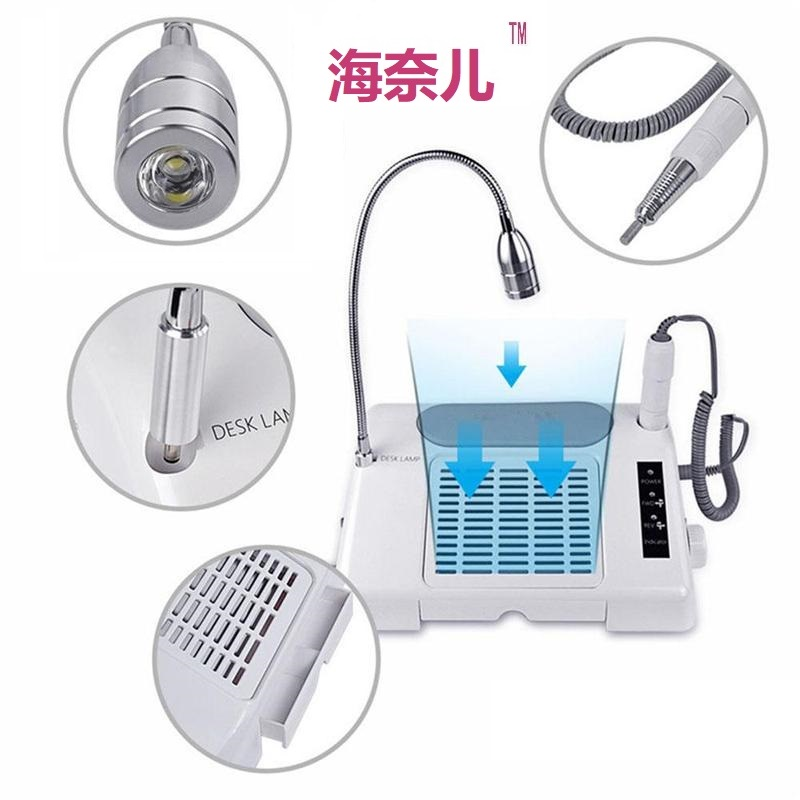 3-in-1-Electric-Nail-Drill-Art-Dust-Collector-Suction-Machine-Desk-With-Lamp-Manicure-Pedicure(4)