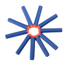 Soft Hollow Hole Head 7.2cm Refill Darts Toy Gun Bullets for  Series Blasters  Kid Children Gift