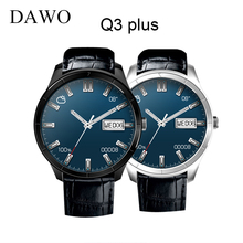 "DAWO New Smart Watch Fitness Tracker GPS WIFI MTK6580 1.39""AMOLED Display Android 5.1 3G Bluetooth 4.0 Watch pk finow Q3 Plus"
