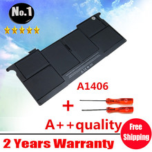 "Wholesale New laptop Battery for Apple MacBook Air 11""  A1465 2012  A1370 2011 production Replace A1406 battery Free shipping"