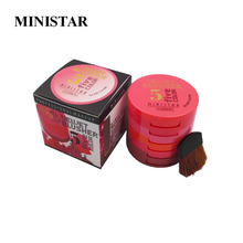 MINISTAR Colors 5 Colors Makeup Blush Face Blusher Powder Palette Cosmetics Professional Makeup Product Free Shipping