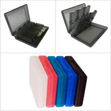 Free Shipping 28 in 1 Protective Game card Cartridge Holder Case Box For Nintendo DS / DS Lite / DSi / 3DS / 3DS XL/LL