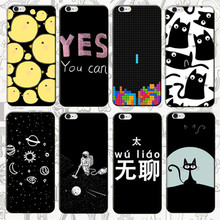 Printed Cell Phone Cover Case for Apple iphone 3 4 5 SE 5C 6 7 Plus Ipod Touch 4 5 6 Original Back Covers Cute Shell