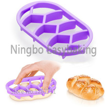 Delicious Homemade Bread Rolls Mold Brioche Mold Pan Braid Line Delicia Mould Kitchen Pastry Baking Tools