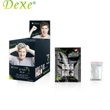 10pcs/set Dexe Black Hair Shampoo Hair Color Only 5 Minutes White Become Black Fast Hair Dye Crayons for temporary hair dye