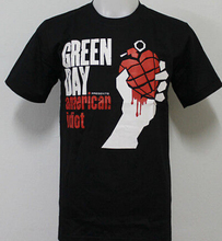 Japanese Anime Summer Costumes Green Day American Idiot T Shirt Cotton Tops Tees