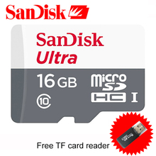 Original SanDisk 16GB Memory Card 48MB/s Micro SD Card 32GB Class 10 C10 16GB SD Card 64GB for Phone/Tablet/Camera