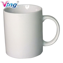 36pcs/lot Blank White Mugs A Grade 11OZ Sublimation Coated Mugs For Heat Press With Box(China)