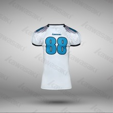 American football training jersey custom made