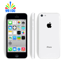Original Apple iPhone 5C Unlocked A6 Dual Core Cell phone 16GB/32GB ROM WCDMA 3G Used phone(China)