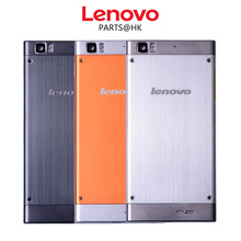 Original New Metal Rear Housing Door For Lenovo K900 Back Battery Cover Case with Volume + Power Button + Camera Lens Assembly