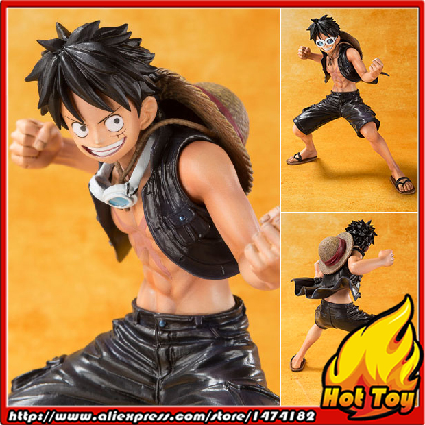 100% Original BANDAI Tamashii Nations Figuarts ZERO Figure - Monkey D. Luffy -ONE PIECE FILM GOLD Ver.- from ONE PIECE<br>