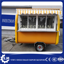 fast food mobile kitchen trailer bike food cart(China)