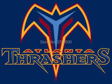 Atlanta Thrashers Ice Hockey Sports Team Flag 3ft X 5ft Custom Banner With Sleeve Two Gromets 90*150CM(China)