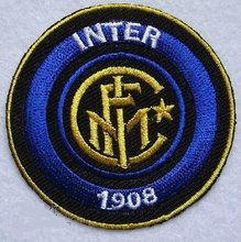 Inter milan Embroidered Iron On Patch Applique Football Team Badge wholesale supplier dropship