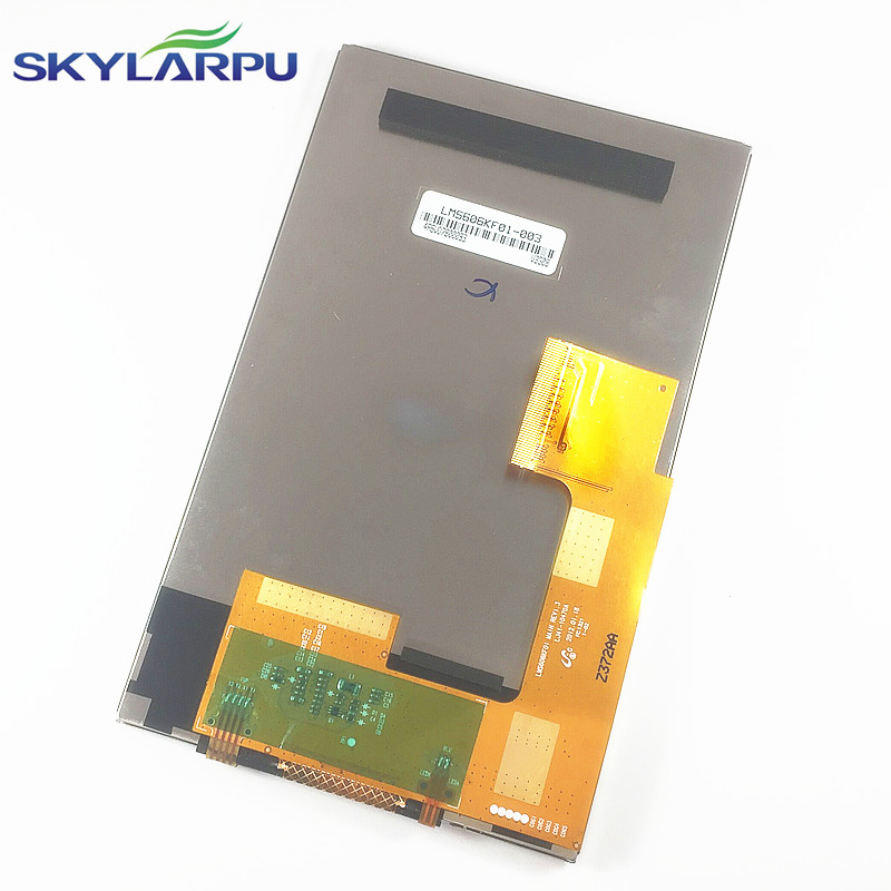 skylarpu 6-inch for TomTom VIA 1605TM 1605M 620 full GPS LCD display screen with touch screen digitizer panel free shipping<br>
