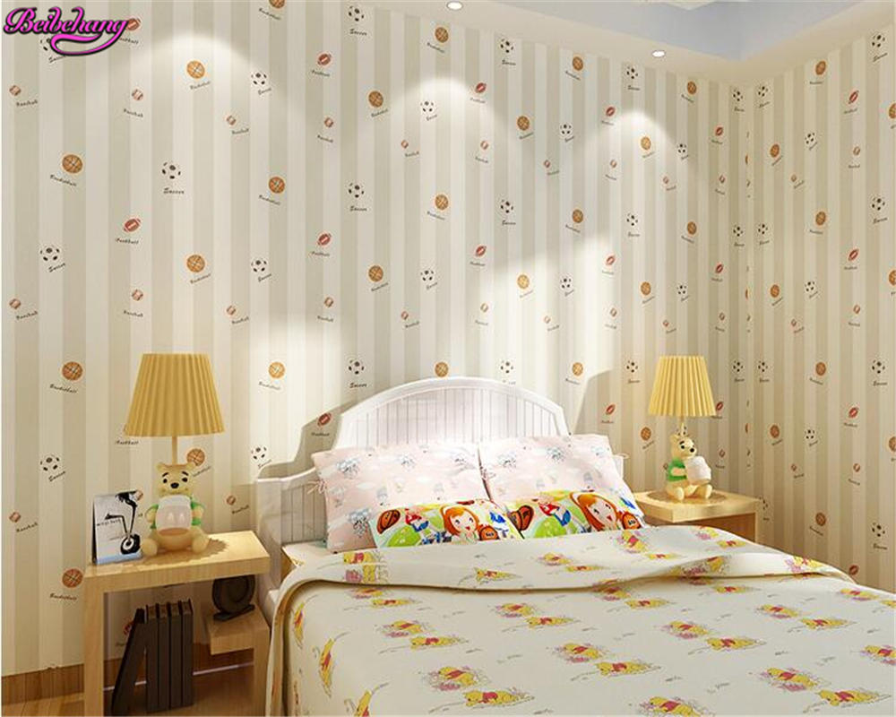 beibehang Nonwoven childrens room 3d wallpaper boys bedroom wallpaper papel de parede para quarto papier peint wall paper <br>