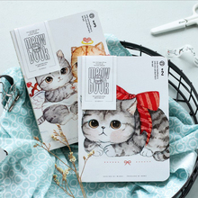 1 X Creative kawaii cat Notebook Diary Book DIY scratch notebook novelty gift for kids stationery school office supplies(China)