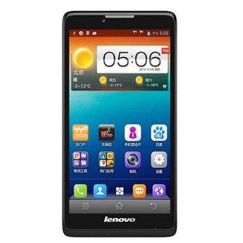 Original Lenovo A889 MTK6582 Quad Core Android 4.2 6.0'' 1G RAM 8G ROM WCDMA GPS Dual SIM 8Mp Multi language Russina Cell Phone