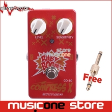 Biyang Baby Boom Series CO-10 Electric Bass Effect Pedal Compress X Compressor Effect guitar pedal  True Bypass Free Connector