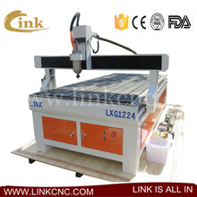 t-slot table (vacuum table for option) 1224 woodworking machine cnc router spindle motor