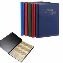 New 120 Pockets Coin Album Coins Collecting Money Penny  Holders Collection Storage Collecting Book Random Color