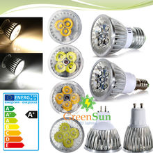 MR16 GU10 E27 E14 3W 4W 5W LED Spot Spotlight Light Lamp Bulb Warm/Cool white