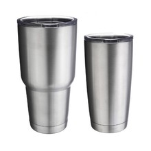 2017 New Style Bilayer Stainless Steel Insulation Cup 20oz 30oz Cups Cars Beer Mug Large Capacity Mug Tumblerful(China)