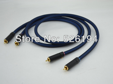 Free shipping pair Siltech SQ-88B G5 Silver plated interconnect Cable with pailiccs RCA plug connector