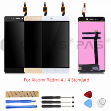 For Xiaomi Redmi 4 Standard LCD Display Screen Touch Panel LCD Digitizer Display Redmi 4 2GB RAM 16GB ROM Assembly Repair Parts