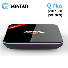 Buy 5PCS VONTAR Q Plus 3G/32G Amlogic S912 Octa Core Andorid 6.0 TV BOX 2.4G/5GHz Dual WiFi BT4.0 4K H.265 Set Top Box Media Player for $260.90 in AliExpress store