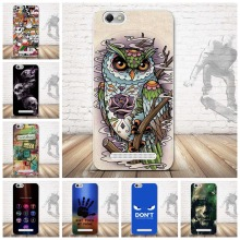 For Lenovo Vibe C A2020 Case 3D Relief Painting Soft Silicon Back Cover Case for Lenovo Vibe C A2020 Covers Pattern Skin