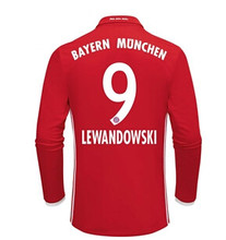 hyy-90 Thai best Quality Bayernes Muniches adult Long sleeves soccer Jersey 16 17 Home Away 3RD free shipping dd