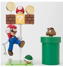 Special offer 3pcs/set DATONG model SHF super Mario action figure game toy with Accessories Scene classic toys Christmas gifts(China)