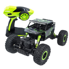 EU RC Truck 2.4GHz Rock Crawler Rally Car 4WD Truck 1:18 Scale Off-road Race Vehicle Buggy Electronic Remote Control Car(China)