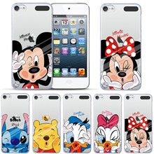 For iPod Touch 5 Case Mickey Minnie Pooh Daisy Duck Painted For Apple ipod touch 5 5th Cover Hard Back Shell