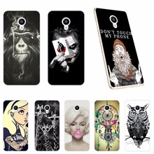 5.2 inch Soft Cover Cases For Meizu M5 Mini Cool Fashion Printing Soft Silicone TPU Back Cover For Meizu M5 M 5 Mini Phone Case