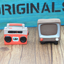 Artificial Radio TV Furniature Miniature Fairy Garden Home Houses Decoration Mini Craft Micro Landscaping Decor DIY Accessories