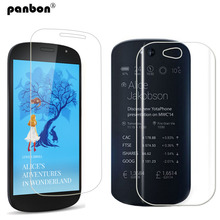 Protective glass yotaphone 2 tempered screen protector & Back HD clear nano soft film Yota phone - panbon Official Store store