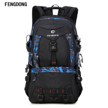 Fengdong Most Durable Packable big size Lightweight Travel Backpack Multi-functional Daypack Work Travel Duffel Backpack