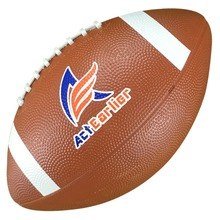 ActEarlier Sports Balls Official Size 9 American Football Rugby Ball Rubber Rugby For Training Gift Entertainment Kids Toy
