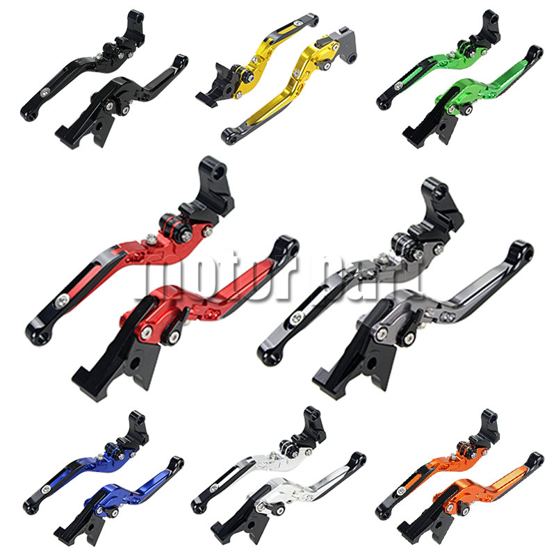 For 2005-2006 Kawasaki Ninja ZX6R 636 ZX6RR ZX 6R ZX 6RR Motorcycle Adjustable Folding Extending CNC Brake Clutch Levers 05 06<br>
