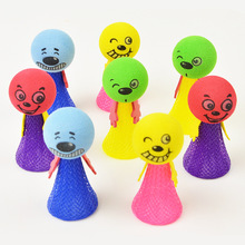 5pcs/lot Baunce Doll Mega Fly Jump Elf Funny Educational Baby Learning  Novelty Toys Best Gifts