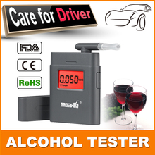 HOT SALE Portable Breath Alcohol Police Analyzer Digital Breathalyzer Tester Body Alcoholicity Meter Alcohol Detection