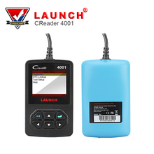 Launch CReader 4001 OBD2 Code Reader Diagnostic Scanner With Manufacturer Specific DTCs Free Online Update same as AUTEL AL419(China)