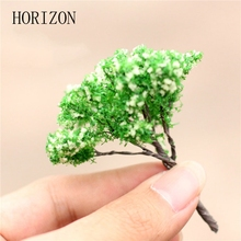 Mini Tree Terrarium Figurines Garden Miniature Resin Craft Home Garden Decoration Micro Landscape Bonsai Plant 3 Style
